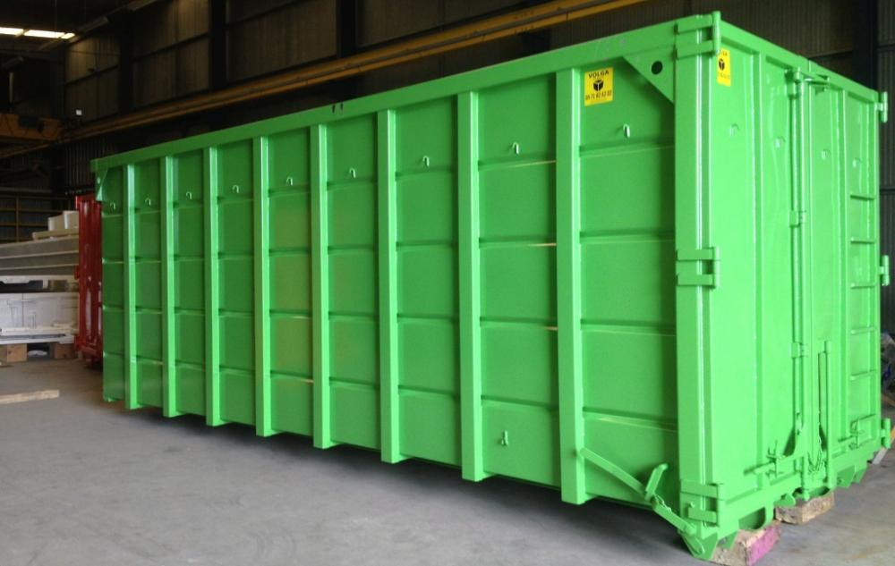 Reinforced Hooklift Containers For Multilift Systems